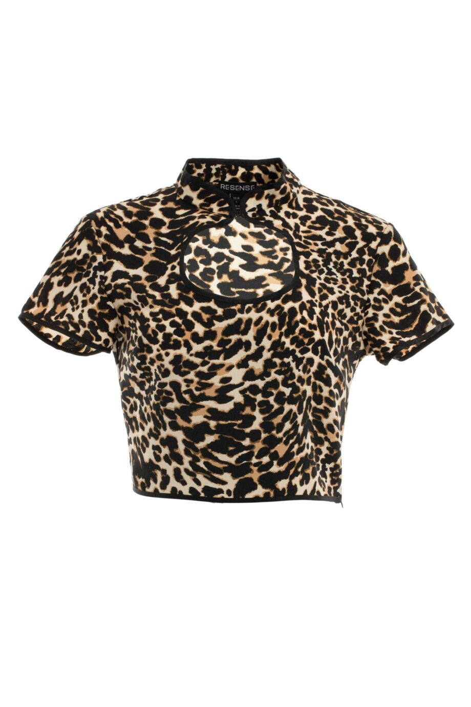 top dama decupat animal print malvina